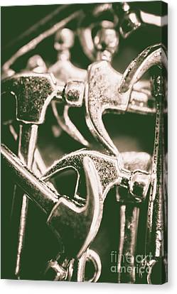Silver Hammers Canvas Print by Jorgo Photography - Wall Art Gallery