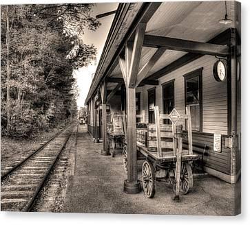Silver Lake Rail Road 253 Canvas Print