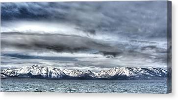 Silver Lake Tahoe Canvas Print