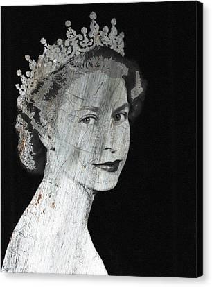Iron Queen 2 Canvas Print