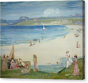 Silver Sands Canvas Print by Charles Edward Conder