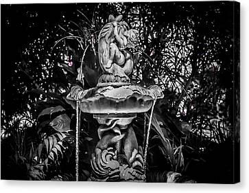 Silver Screen Masterpiece Canvas Print by Carlos Ruiz