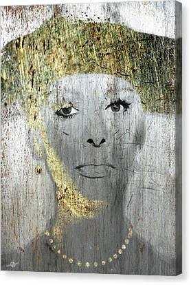 1960 Canvas Print - Silver Screen Sophia Loren by Tony Rubino