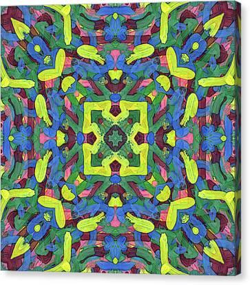 Silver Soup -pattern- Canvas Print