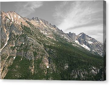 Silver Star Mountain Canvas Print by Dylan Punke