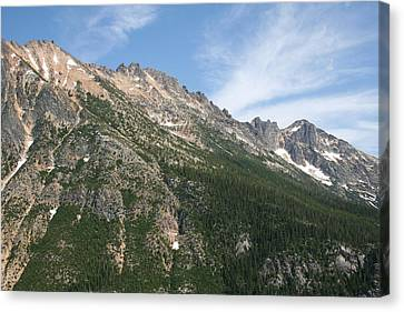 Silver Star Mountain Fc Canvas Print by Dylan Punke