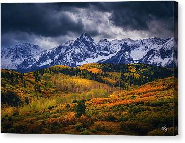 Canvas Print - Silver Storm by Peter Coskun