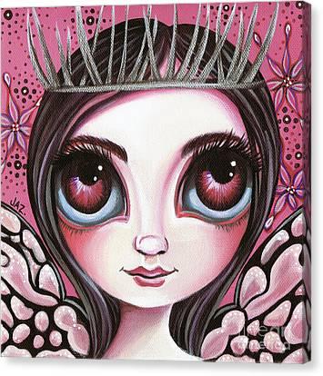 Silver Thorn Canvas Print by Jaz Higgins