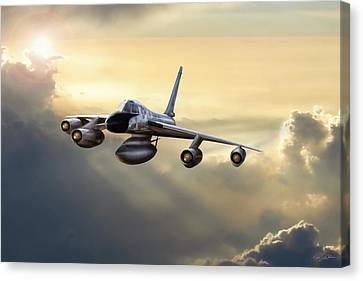 Silverbird Canvas Print by Peter Chilelli