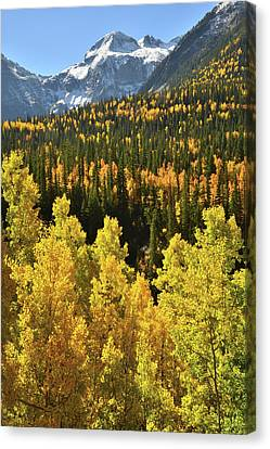 Canvas Print featuring the photograph Silverton Mountainscape by Ray Mathis