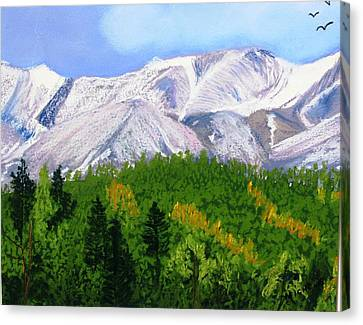 Silverton View Canvas Print