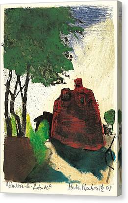 Simiane La Rotonde Canvas Print