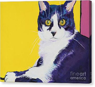 Simon Canvas Print by Pat Saunders-White