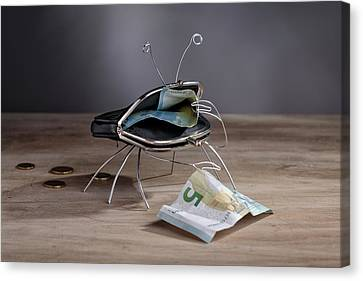 Purse Canvas Print - Simple Things - The Crab by Nailia Schwarz