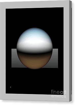 Simplicity 25 Canvas Print by John Krakora