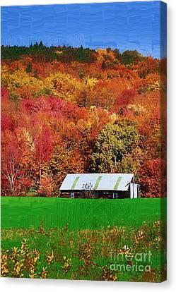 Simply Adirondack Canvas Print by Diane E Berry