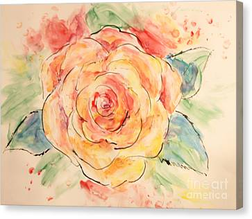 Canvas Print - Simply Rose by Tina Sheppard