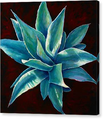 Simply Succulent Canvas Print