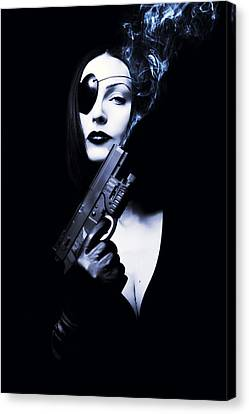 Sin City Canvas Print by Art of Invi