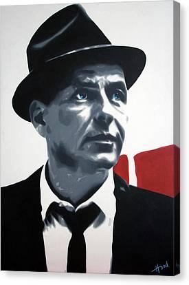 Sinatra Canvas Print