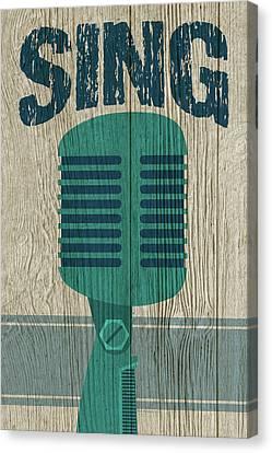 Sing Canvas Print by WB Johnston