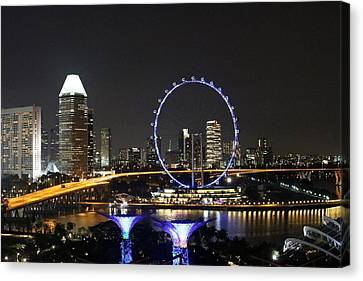 Singapore Eye Canvas Print by Diane Height