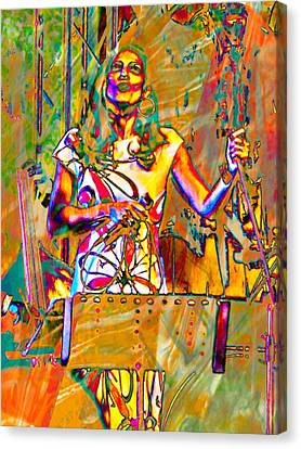 Singer Canvas Print by Dorothy Berry-Lound