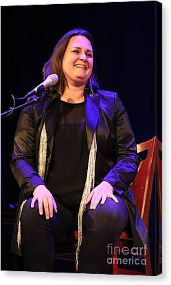 Singer Madeleine Peyroux Canvas Print by Concert Photos