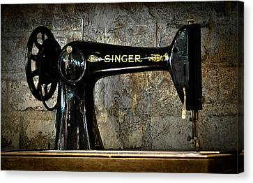 Singer Canvas Print by Ronda Broatch