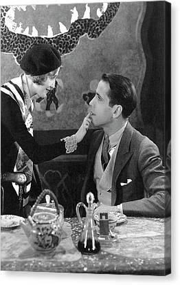 Singer Ruth Etting Humphrey Bogart Vitaphone Short Broadways Like That 1930-2016 Canvas Print