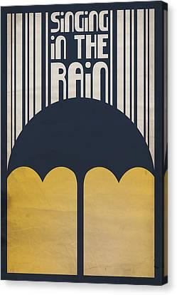 Singin' In The Rain Canvas Print by Megan Romo