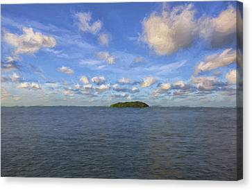 Single Island II Canvas Print