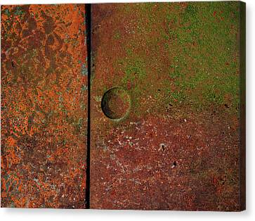 Singular ...raw Steel Canvas Print by Tom Druin