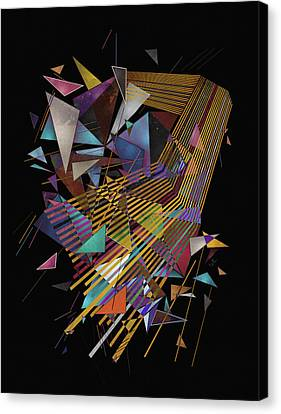 Singularity Canvas Print by Francisco Valle
