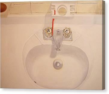 Sink Canvas Print by Nigel Wynter