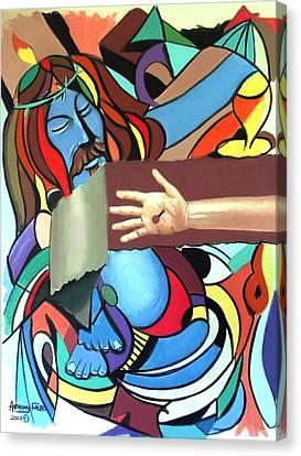 Sins Of The World Canvas Print