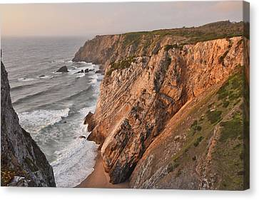 Canvas Print featuring the photograph Sintra Portugal Coast by Marek Stepan