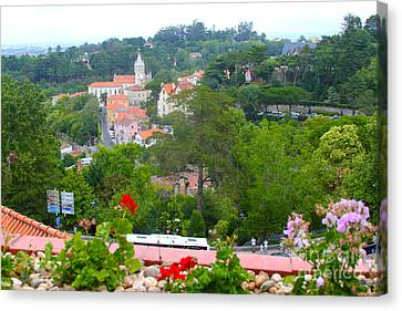 Sintra View Canvas Print