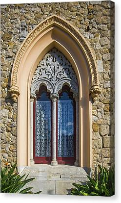 Canvas Print featuring the photograph Sintra Window by Carlos Caetano