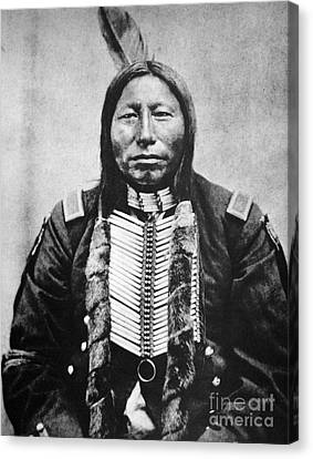 Sioux: Crow King Canvas Print by Granger