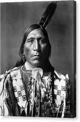 Sioux Man, C1907 Canvas Print by Granger