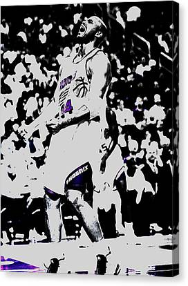 Sir Charles Barkley Canvas Print by Brian Reaves