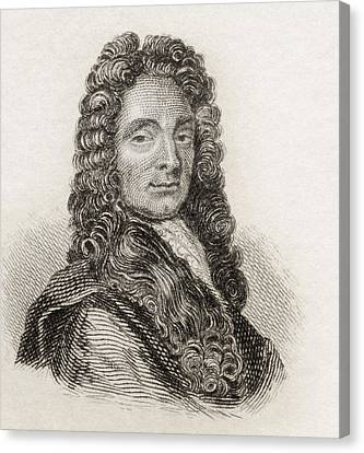 Sir Christopher Wren, 1632 To 1723 Canvas Print