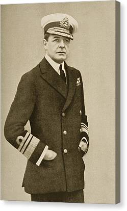 Sir David Beatty, 1871-1936. British Canvas Print by Vintage Design Pics