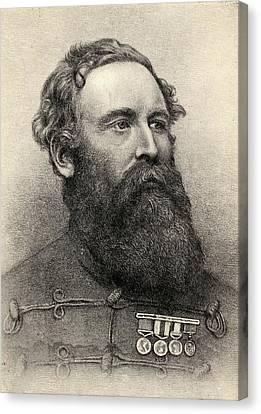 Sir Harry Burnett Lumsden, 1821-1896 Canvas Print
