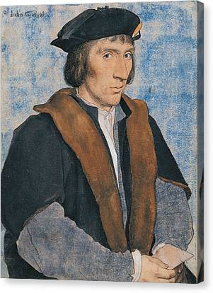 Sir John Godsalve Canvas Print by Hans Holbein the Younger