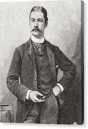 Sir Leslie Matthew Ward, Aged 31, 1851 Canvas Print