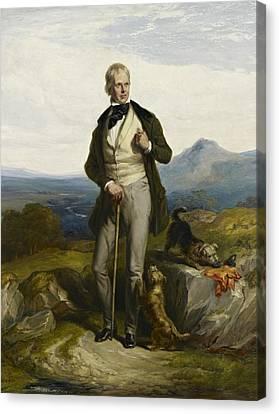 Sir Walter Scott Canvas Print