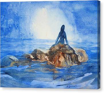 Siren Song Canvas Print by Marilyn Jacobson