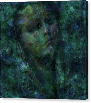 Siren Waiting Canvas Print by Diane Parnell